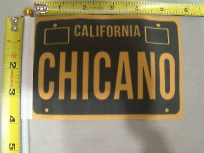 California Chicano car truck 4x6 inch flag for parade raza license plate topper