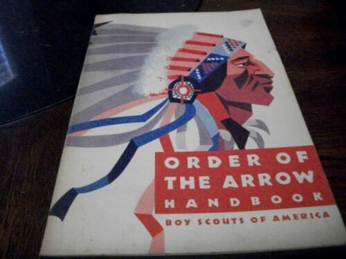 Order of the Arrow Handbook / Boy Scouts Of America  1970
