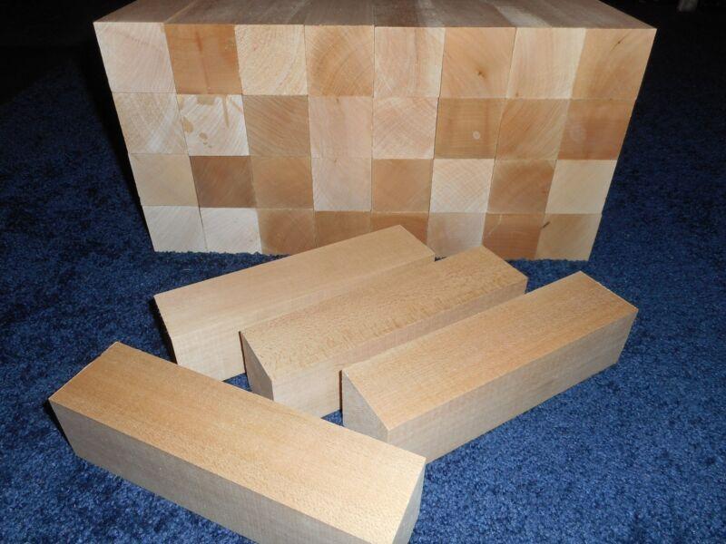 "2"" x 2"" x 8"" Basswood Carving Wood Blocks Craft Lumber *KILN DRIED* BUY IN BULK"