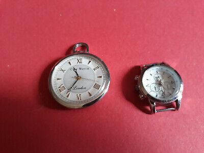 orologio da taschino + orologio senza cinturino