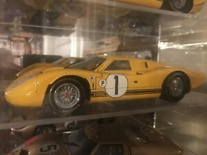 1:18 DIECAST EXOTO FORD GT-40 DETAILED MANY INSTOCK NEW RARE