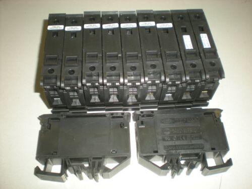 Lot of (11) Allen Bradley 1492-WFB10 Fuse Holder Blocks