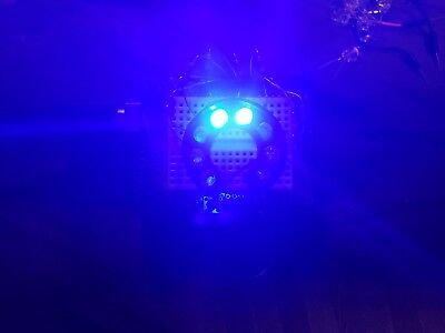 Blue 16 Segment Led Arc Display Works With Arduino