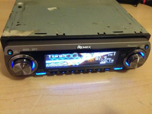 Pioneer Premier DEH-P860MP Faceplate Only- Tested Good Guaranteed!