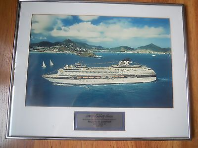 Celebrity Cruises Galaxy     Framed   Dedicated Large Picture