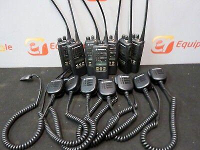 Motorola Walkie Talkies Portable Radio Aah25rdh9dp5an Antenna Speaker Microphone