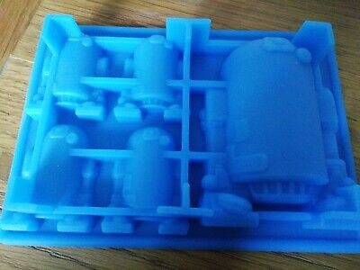 Silicone R2D2 whiskey Ice Cube Tray Mold ice tray Star Wars Chocolate Mould