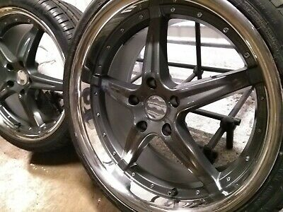 """WH 19"""" Dished Alloy Wheels 265 235 19 Tyres BMW 3 Series E90 E93 F30 F31 F32"""