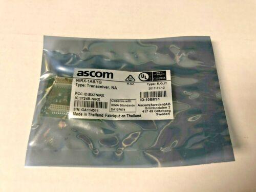 ASCOM NIRX-1AB/1G TRANSCEIVER, NA FOR EMERGENCY CALL SYSTEM TELECARE IP NEW