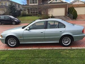 2001 BMW 5 Sedan Croydon Maroondah Area Preview