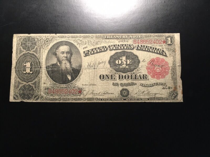 LARGE Currency Treasury Note Fr351