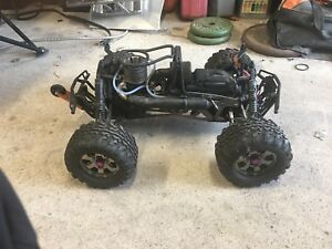 HPI Savage X 4.6 monster RC truck. RTR