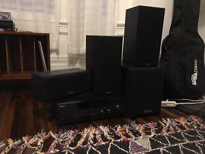 Kenwood receiver surround sound speakers 5.1