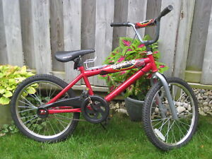 RED BMX SUPERCYCLE(CLUTCH)  BICYCLE
