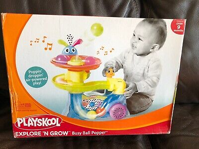Ball Popper Toy (playskool explore n' grow busy ball popper Toy Over 9 Months Air Powered Play)