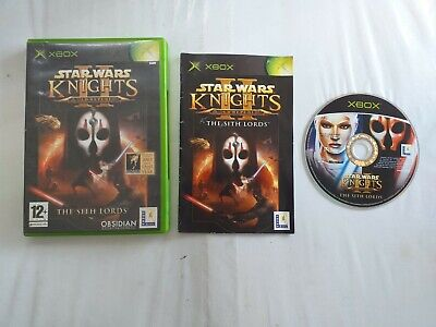 STAR WARS KNIGHTS OF THE OLD REPUBLIC II THE SITH LORDS XBOX GAME