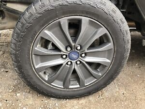 2018 Ford F-150 rims and tires