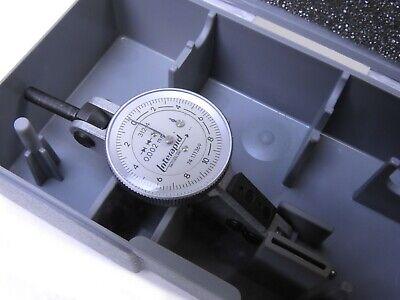 Brown Sharpe Tesa Interapid 312-4 Horizontal Test Indicator .002mm 0.4mm Range