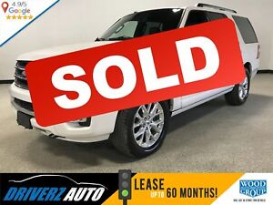 2017 Ford Expedition Limited CLEAN CARFAX, LIMITED, 8 PASSENGER