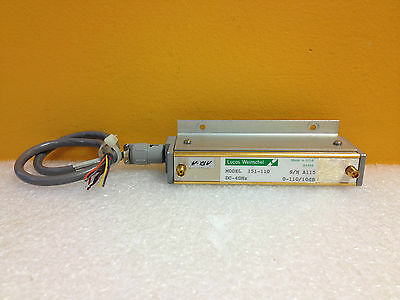 Weinschel 151-11 Dc To 4 Ghz 0 To 11 Db Sma F-f Attenuator W Drive Cable