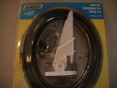 Marine Boat Speedometer Speedo kit Pickup Pitot tube w20ft tubing