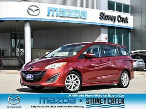 2017 Mazda Mazda5 GT Leather Moonroof Rear Cam Heated Seats