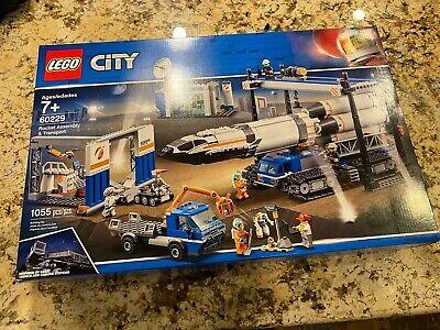 Lego City Rocket Assembly & Transport 60229 Brand New/Sealed