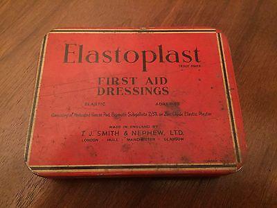 Vintage Elastoplast First Aid Dressing Tin
