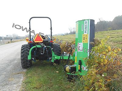 5 Roadside Ditch Bank Flail Mower Peruzzo Fox Cross 160020-40hp Offsettilt
