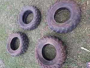 4 wheeler tyres Biloela Banana Area Preview