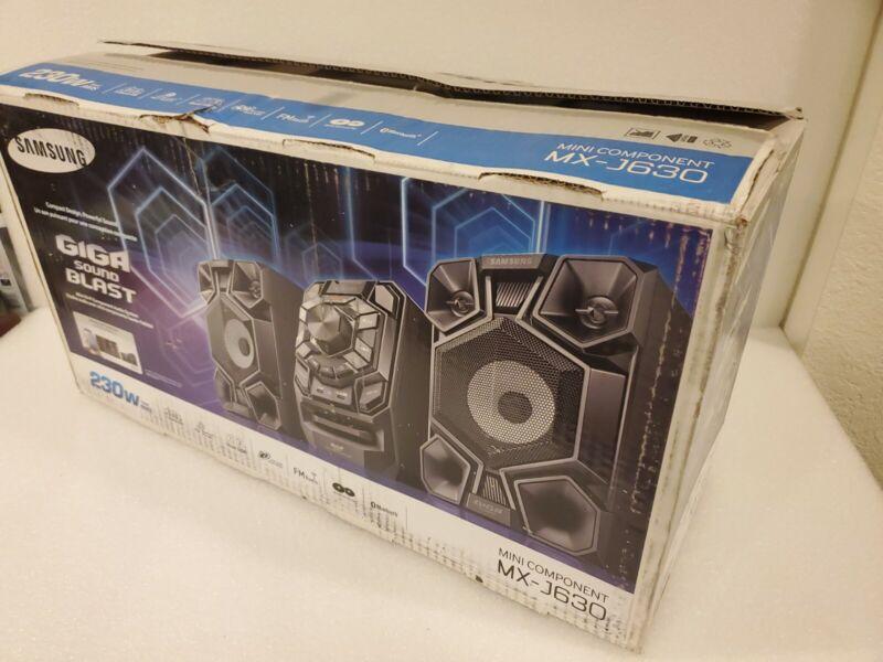 Samsung MX-J630 Giga Sound System 230 watt Bluetooth CD Player NO REMOTE