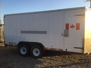 2001 Beothuck 16' Enclosed Trailer