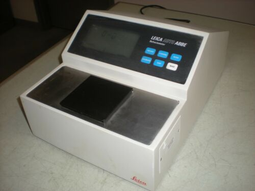 Leica 10500-802 Auto Abbe Refractometer - Powers up as shown