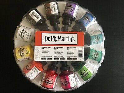 Dr. Ph. Martin's Bombay India Ink 1.0oz set - 12 Bottles