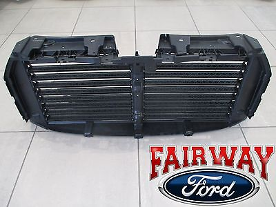 15 thru 17 F-150 OEM Ford Upper Radiator Grille Air Shutter Control Assembly NEW