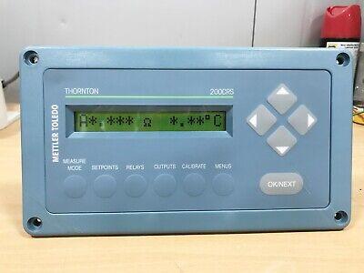 Mettler Toledo Thorton  200CRS Conductivity/ Resistivity Meter