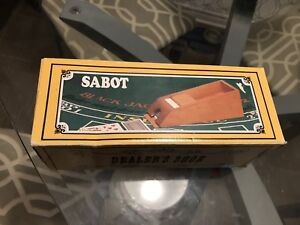 Dead shoe card dealer sabot—— vintage