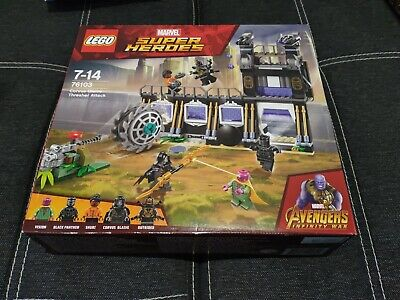 Lego Marvel Super Heroes Corvus Glaive Thresher Attack (76103)