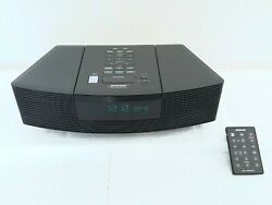Bose Wave Radio & CD Alarm Clock Player AWRC1G with REMOTE | TESTED & Working