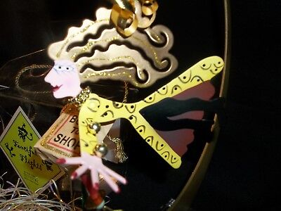NEW Fanciful Flight PERFECT GIFT love ANIMAL SHOPPER Metal Ornament Silvestri  - Fanciful Gifts