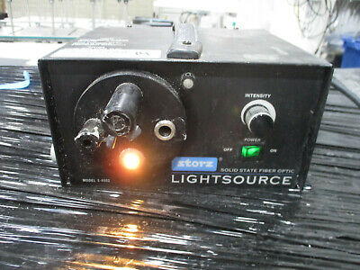 Storz Solid State Fiber Optic Light Source Model S-6000 With Turret
