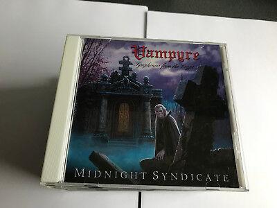 Vampyre 2003 by Midnight Syndicate CD V NR MINT  - Classic Halloween Instrumental Music