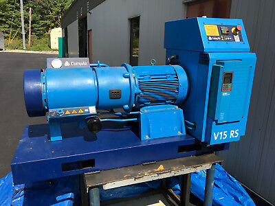 Compair Compressor V15 Rs Drier Rotary Vane Air Compressor