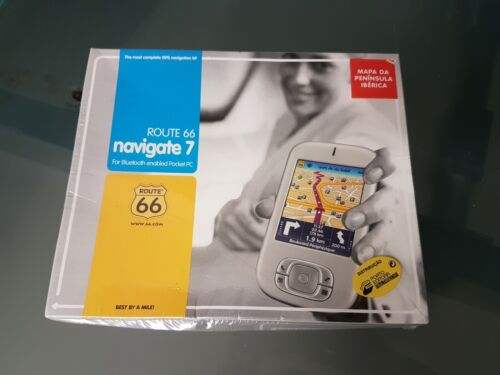 ROUTE 66 NAVIGATE 7 + ROUTE 66 MOBILE 7 - NOS - NEW !!! RARE !!!