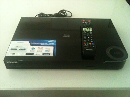 Samsung 500 GB 3D Blu Ray/DVD Player and Recorder Mango Hill Pine Rivers Area Preview