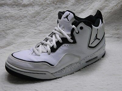 Nike Jordan Courtside 23 GS Mid Cut Trainer Shoes Mens Size 12 White FREE S&H Mid Cut Trainer
