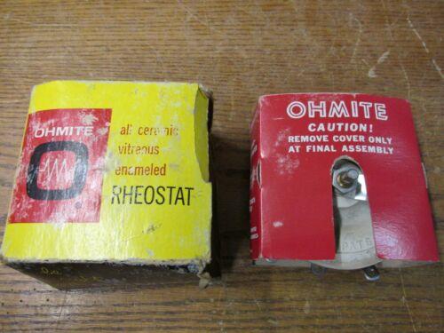 NEW NOS Ohmite 0541 Rheostat 500 Ohm