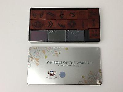 Breast Cancer Rubber Stamp Set Symbols Of The Warrior Martha Stewart Ford (Breast Cancer Symbols)