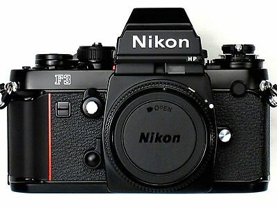 *** NEW *** NEVER USED *** Nikon F3HP 35mm SLR Professional Camera Body