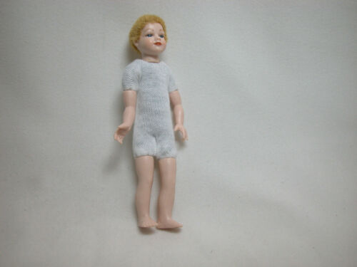 Heidi Ott  Dollhouse Miniature 1:12 Scale Kid Children Boy Doll Body #XKK03